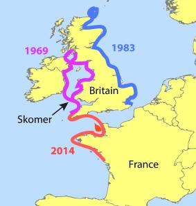 Major seabird wrecks in the UK since the 1960s